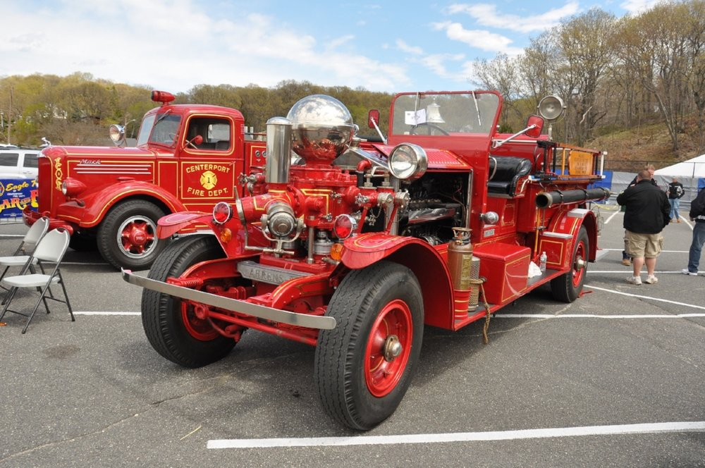 Centerport Fire Department's annual Custom Car and Cycle Show features some of Long Island's finest classic cars, race cars, custom motorcycles and fire trucks.   (Photo/Steve Silverman)