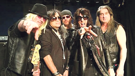 Aerosmith tribute band Pump will perform on June 1 for a 40-minute session of classic rock at The Paramount in Huntington.
