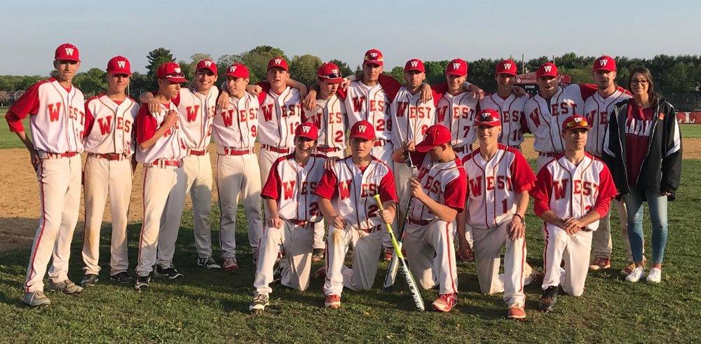The Half Hollow Hills High School West Colts baseball team.   (Photo/Half Hollow Hills)