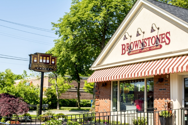 Brownstones Coffee is now open at 361 Larkfield Road in East Northport.   (Long Islander News photo/Connor Beach)