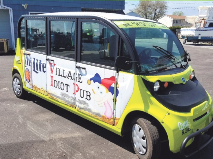 An effort to get employees to park in remote lots and free up parking for customers and restaurant patrons will launch in mid-July in Huntington village when Qwik Ride, a free, app-based shuttle begins offering service.