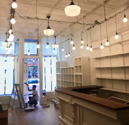 The new space 297 Main St., Huntington, where Clipper Ship Tea Company plans to open later this month.   (Photo/Facebook/Clipper Ship Tea Company)