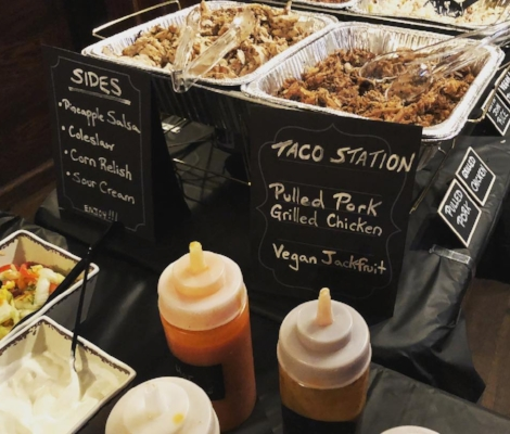An example of Huntington village barbecue joint Radio Radio's catering offerings.   (Photo/Facebook/Radio Radio)
