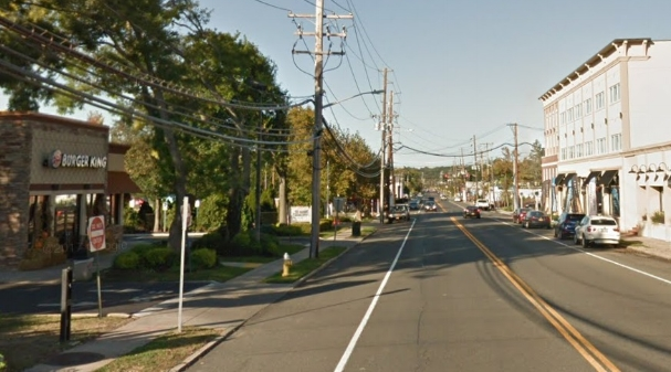 Suffolk police said the fatal crash occurred near this stretch of New York Avenue in Huntington village.   (Photo/Google Maps)