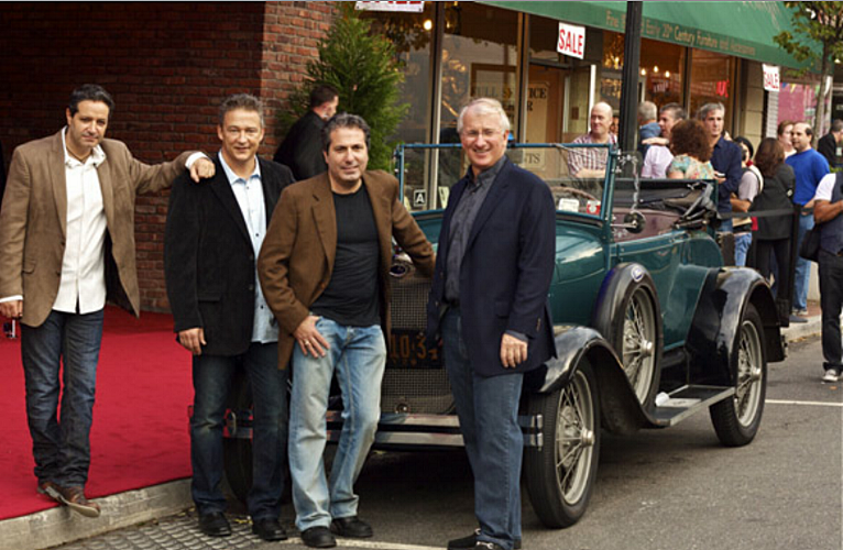 "Huntington Historical Society's 28th annual ""An Evening of Wine Under The Stars"" fundraising gala will honor The Paramount owners, from left, Dom Catoggio, Jim Condron, Stephen Ubertini and Brian Doyle, in recognition of their adaptive transformation of a circa 1927 vaudeville house  into a modern concert venue."