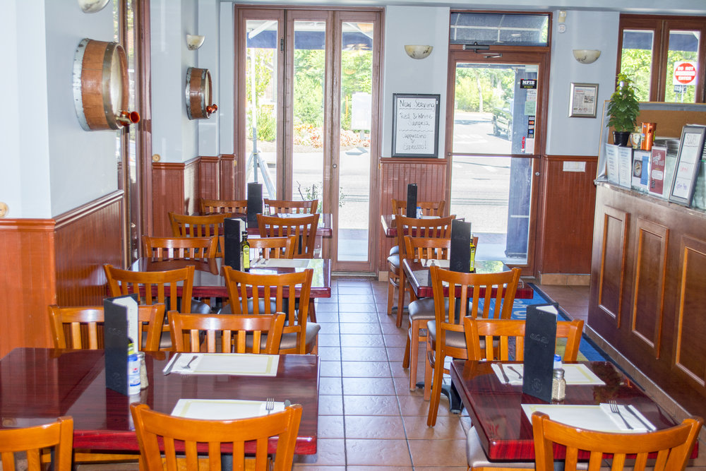 The Aegean Grill on Larkfield Road in East Northport offers take-out and delivery options, as well as an inviting sit down dining area.