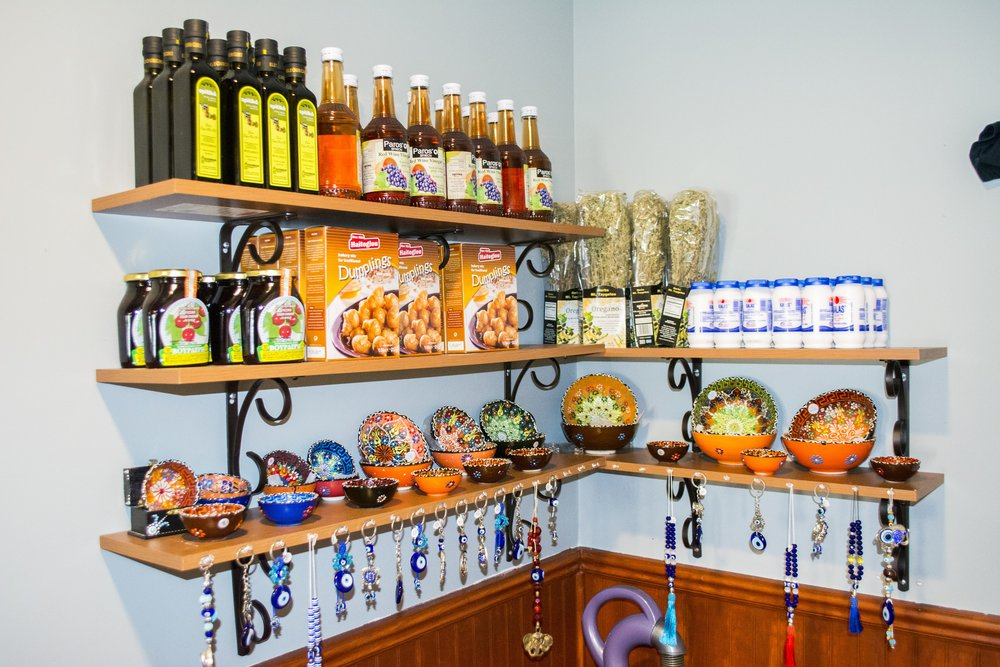 Owner Alex Stathatos imports traditional Greek ingredients to add a level of authenticity to the menu at Aegean Grill.