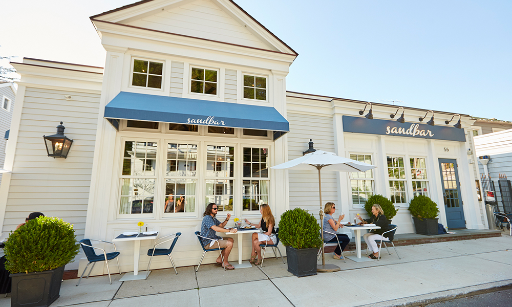 Sandbar in Cold Spring Harbor offers a $32, three course menu Monday through Thursday.