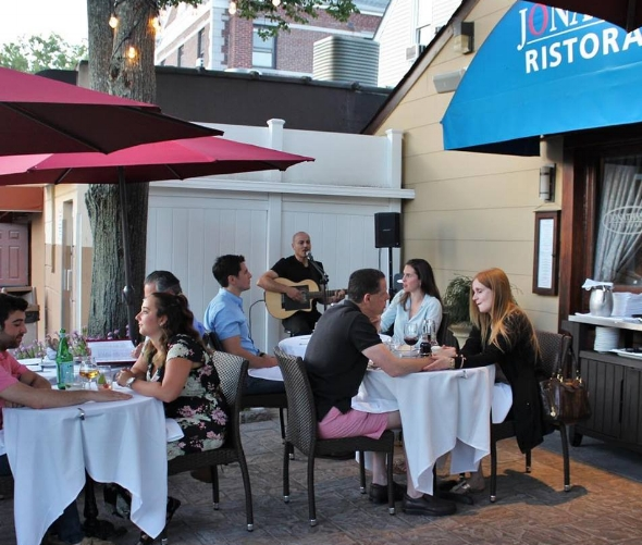 Jonathan's Ristorante offers a $35 Summer  prix fixe  menu that you can enjoy on their new patio.