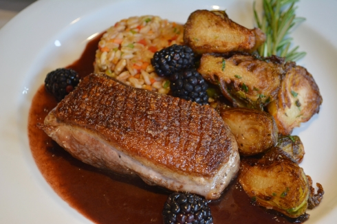 Long Island Duck Breast is on the menu at Jonathan's Ristorante during DineHuntington Restaurant Week.