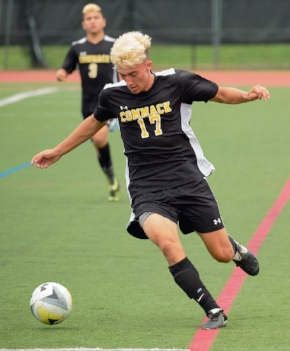 Forward Matt Cozetti is one of 16 seniors on a deep Commack squad.