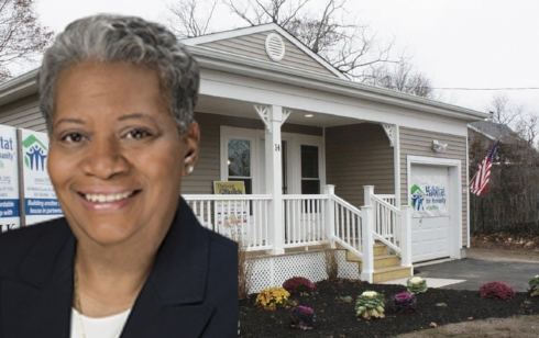 Former Huntington Councilwoman Tracey Edwards has been named executive director of Habitat for Humanity of Suffolk.
