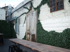 Part of owner Michael Matarazzo's vision was to create an outdoor beer garden that could be enjoyed all year round.