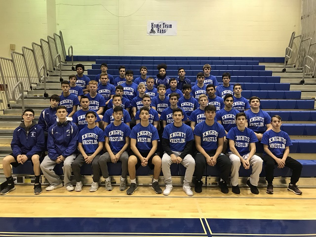 The John Glenn wrestling team dominated at its first tournament with five wrestlers bringing home first-place trophies. The squad hopes to carry similar success into the post-season.