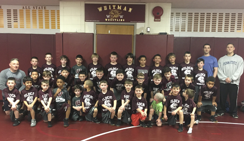 The Wildcat Youth Wrestling Club helps develop wrestling skills in children grades kindergarten to eighth grade.