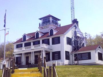 US Coast Guard Station Eatons Neck.