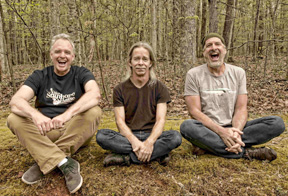 "The Tim Reynolds Trio, from left, bassist Mick Vaughn, guitarist Tim Reynolds and drummer Dan Martier, will debut music from TR3's newest album ""The Sea Versus The Mountain"" at The Paramount on Feb. 1."