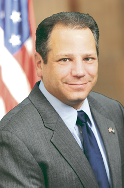 Huntington Republican Committee tapped Assemblyman Andrew Raia as their nominee to run for Town Clerk in November.