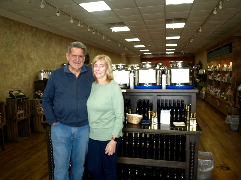 Owners, Bob and Mona Rossero, have had remarkable success since opening The Crushed Olive in Huntington over nine years ago, opening four more stores on Long Island.