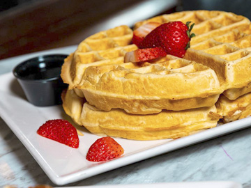 Brunch favorites like waffles, as well as a complimentary Bloody Mary or Mimosa, will be available at Finley's Easter Sunday Brunch Buffet.