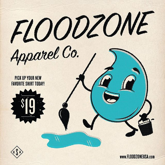 Happy Throwback Thursday Everyone! What better way to celebrate #tbt than to throw on your favorite comfy shirt and enjoy the remaining days of Summer. Head on over to floodzoneusa.com and take advantage of our end of Summer sale and live every day like its Throwback Thursday!