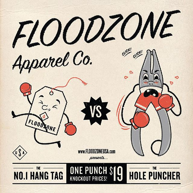 Happy Throwback Thursday Everyone! Here at FLOODZONE, we handle all of the packaging materials ourselves, but sometimes the materials fight back...Head on over to floodzoneusa.com and take advantage of our end of Summer sale and live every day like its #throwbackthursday