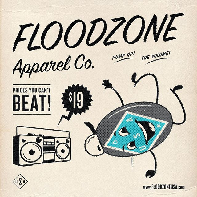 Happy Throwback Thursday Everyone! Fall is rapidly approaching which means we are nearing the end of our Summer sale price (on all shirts) that you can't BEAT!  Bust a move on over to www.floodzoneusa.com and take advantage of our end of Summer sale and live every day like its Throwback Thursday!