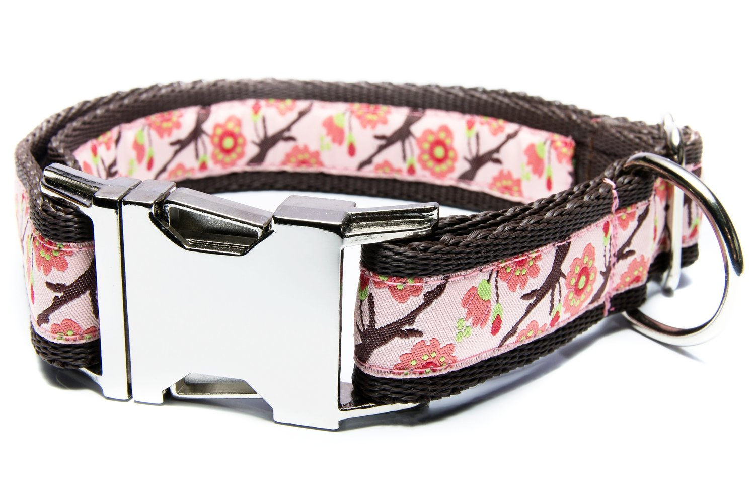 Cherry Blossom Dog Collar Doggy Style Collars And Leads