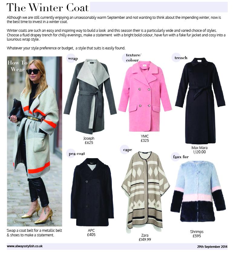Always Stylish Winter Coats