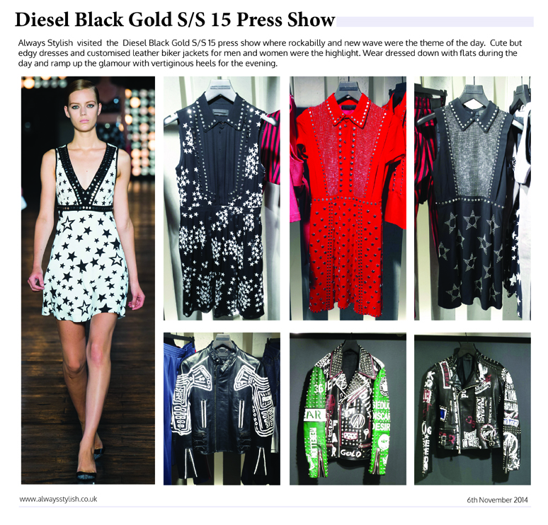 diesel spring summer press show 2015