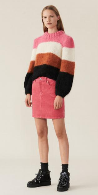Ganni Hand Wool Puff Pullover £380.00