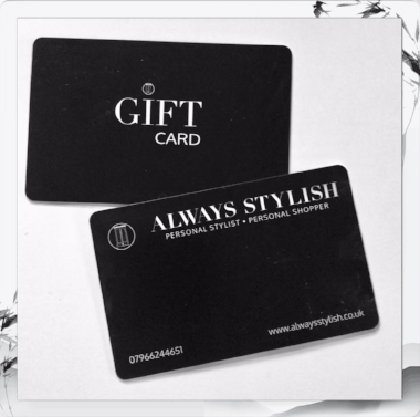 Always Stylish Personal Styling Gift Voucher