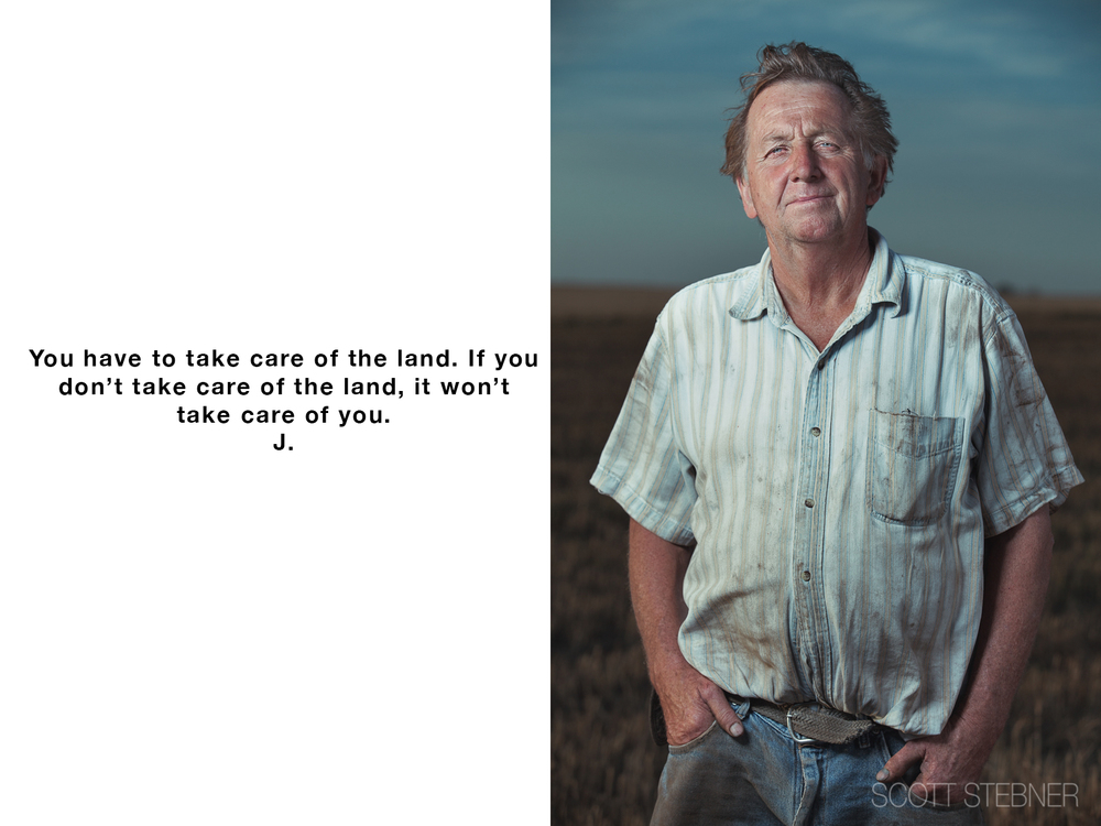 kansas wheat farmer photograph
