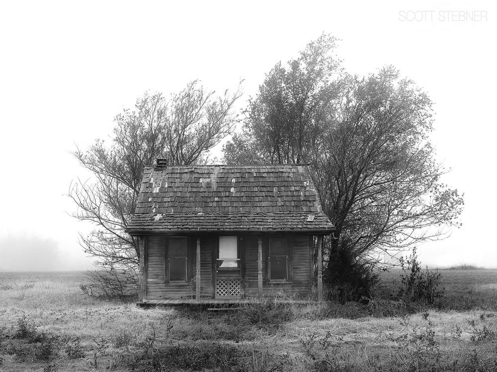 old barn from depression era