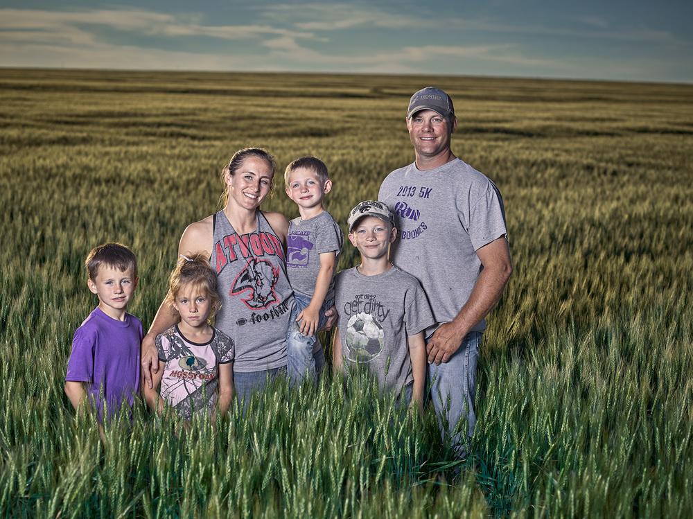 Kansas family farmers