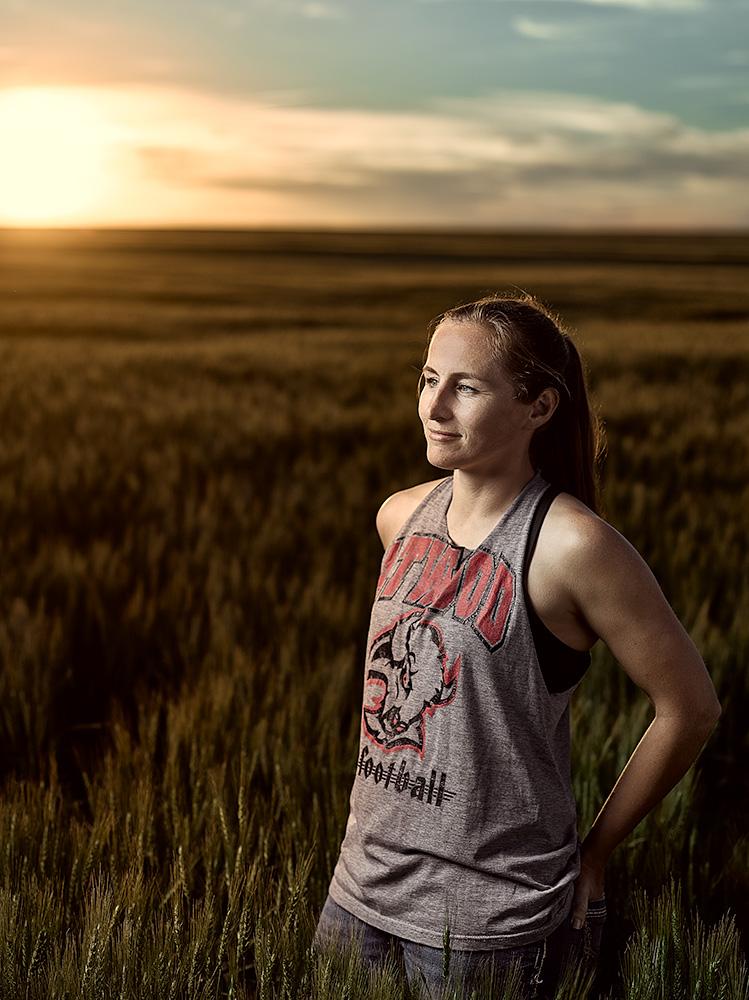 Kansas woman farmer