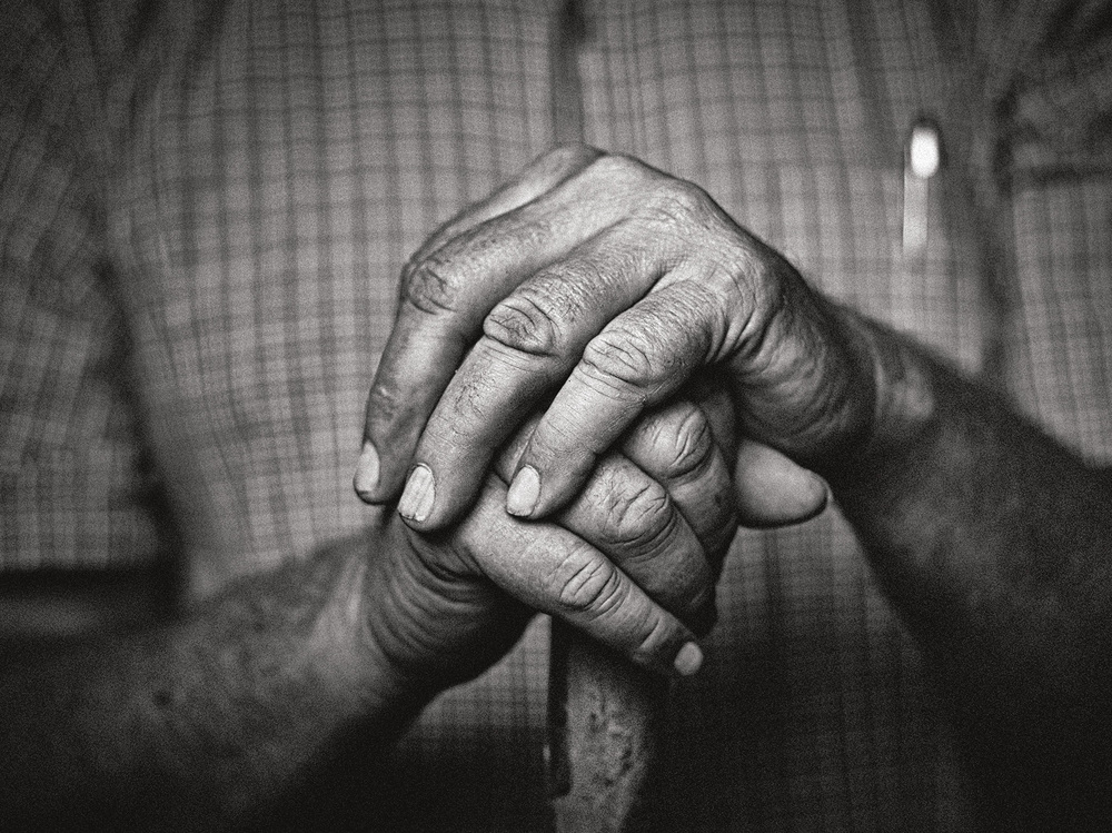 It doesn't take a palm reader to understand the life of a farmer by looking at their hands. The hands of a farmer show the grit, character, and love of the land developed over decades spent in stewardship.