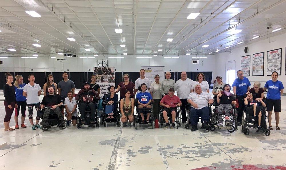 Boccia Provincials 2018 group photo