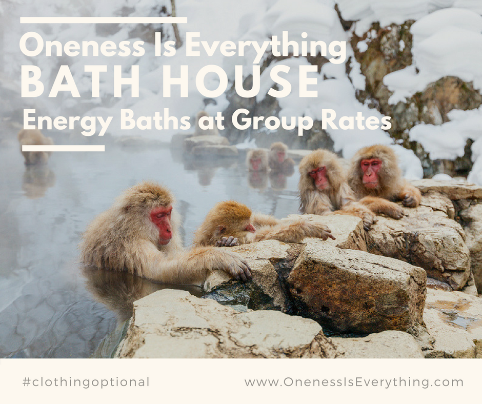 Upgrade your Energy Bath   to include friends and family at a Discount.  The more the merrier!