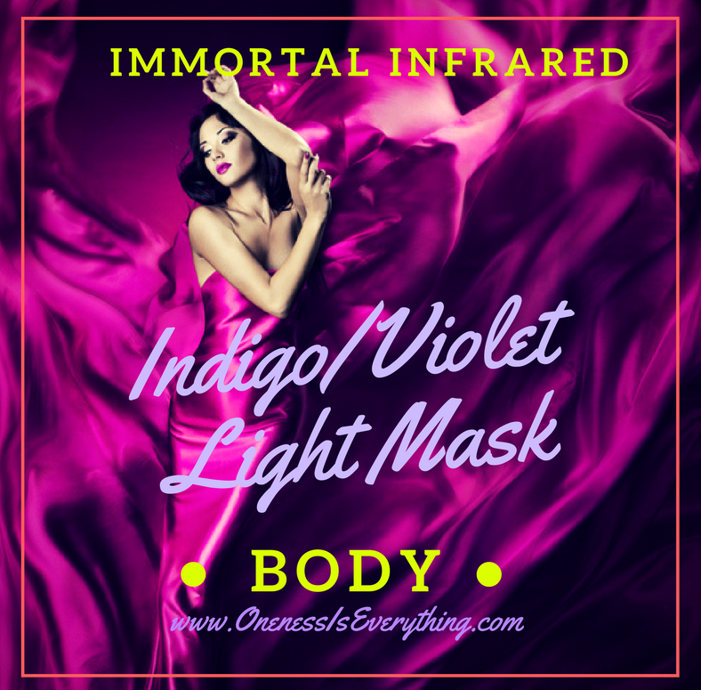 indigo Violet Light Mask