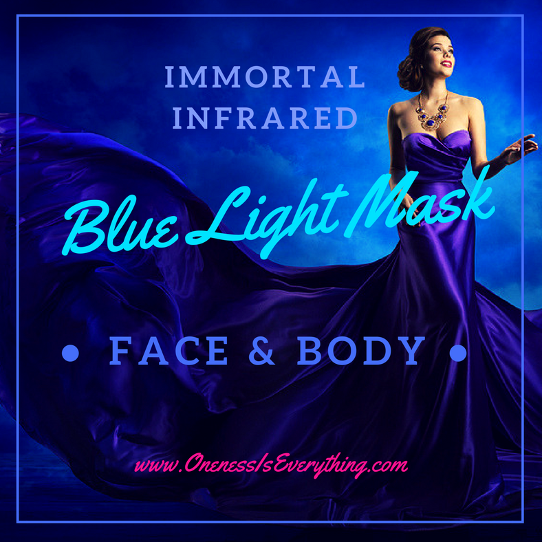 Infrared Blue Light Mask