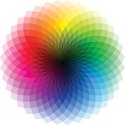 Greater ranges of color in the wheel