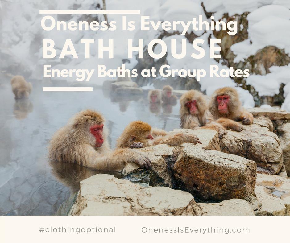 Energy Bath House (12 Energy Baths)   Learn More