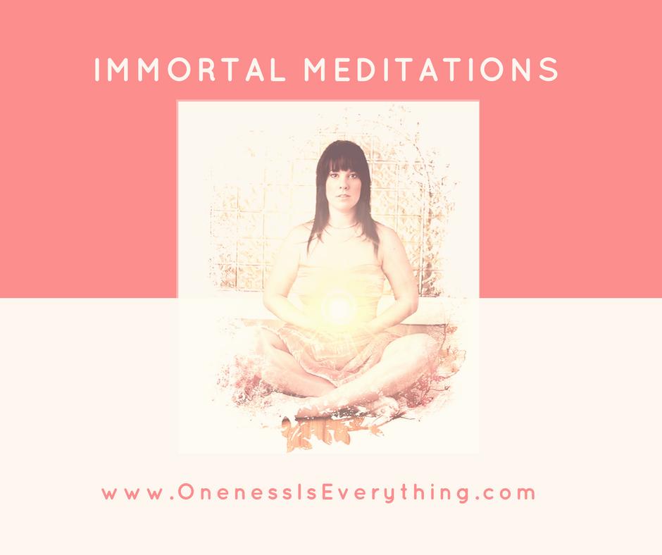 COMING SOON Immortal Meditations Individual Access.   Shop mp3s.