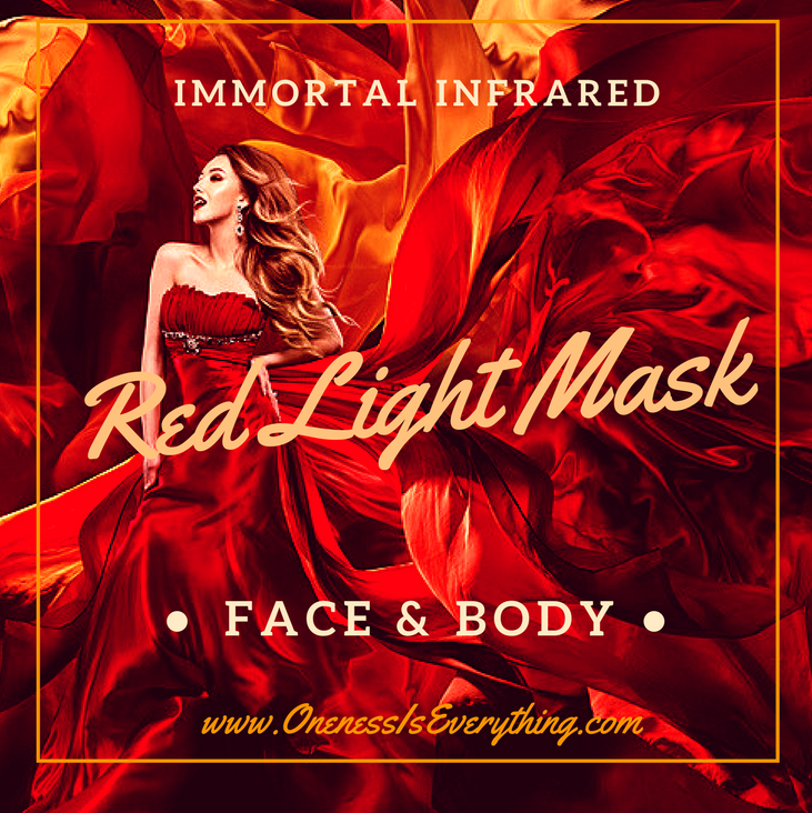 The Immortal Infrared Red Light Mask for Face and Face & Body