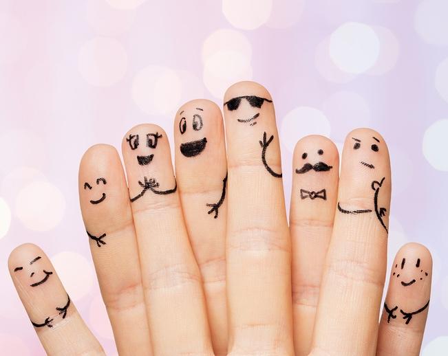 finger people