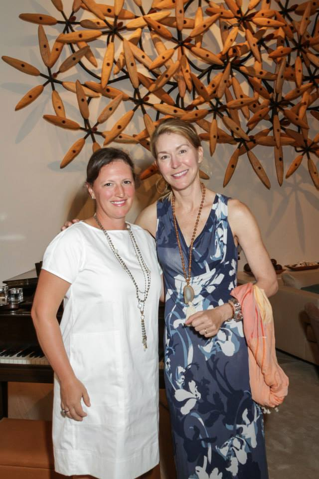 Laura Kelsey and Janet Cravens