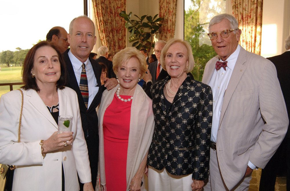 Christie & John Campbell, Virginia Watt, Graeme & Edgar Marston