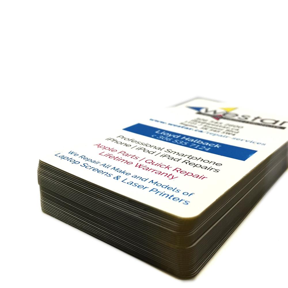 20 pt. Plastic Cards