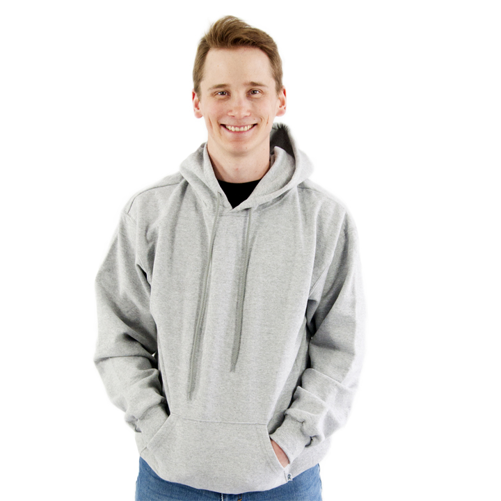 15oz Cotton/Poly Fleece Hoodie